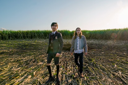 Five and Vanya in 'The Umbrella Academy' Season 2 via the Netflix press site
