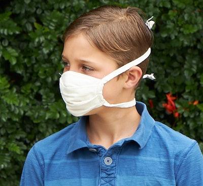 Organic Cotton Face Masks, 4 Pack