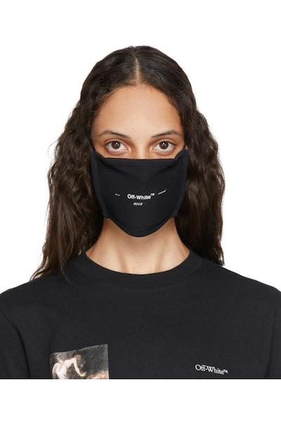 Black Logo Mask