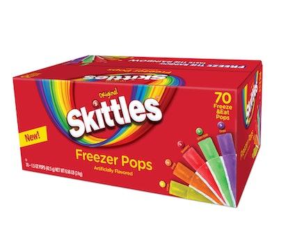 Walmart is selling skittles freezer pops