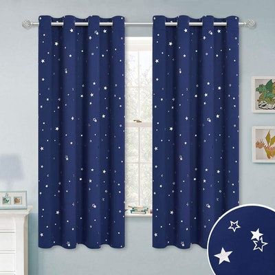 RYB HOME Kids Blackout Curtains (2-Pack)