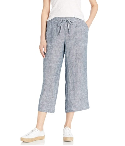 Amazon Essentials Drawstring Linen Crop Pant