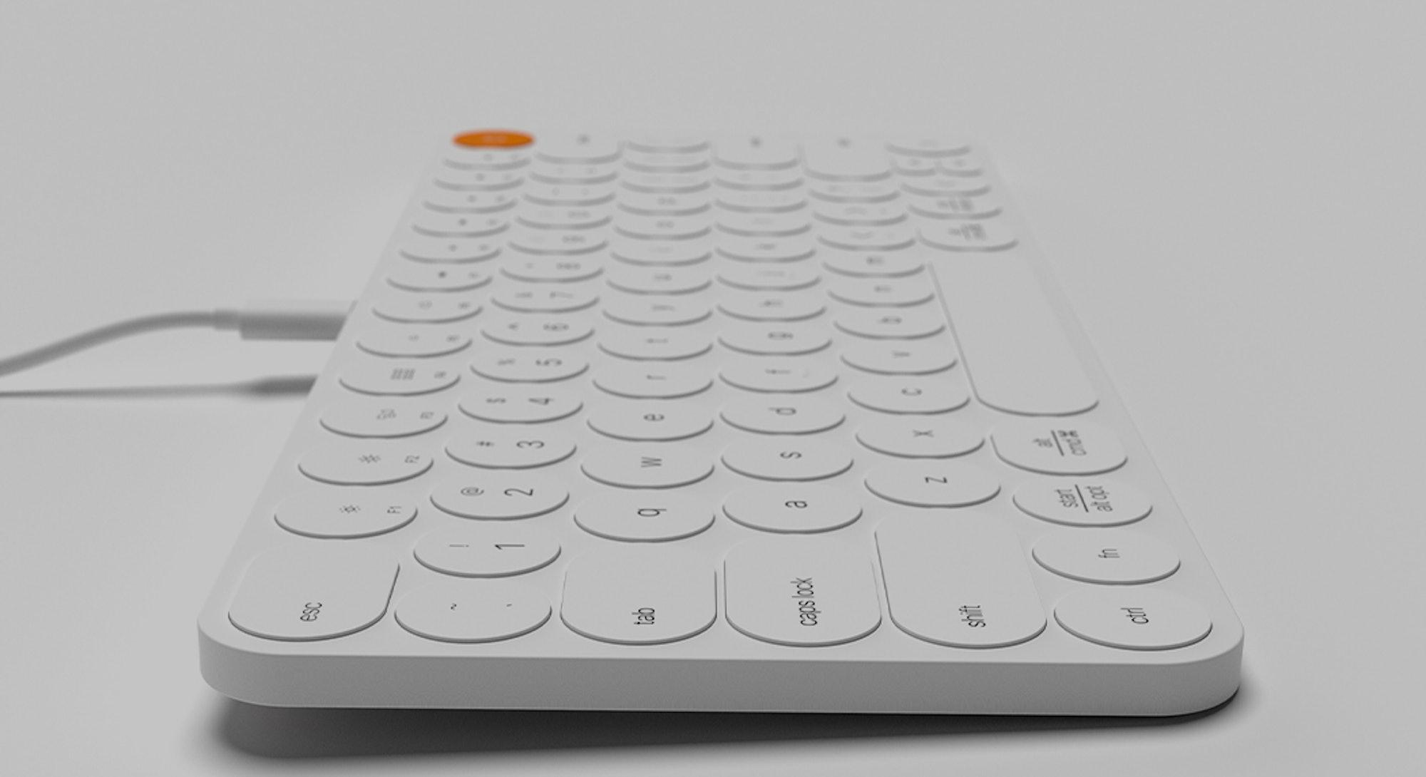 Evan Stuart modular keyboard.