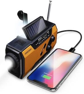 FosPower Emergency Solar Radio
