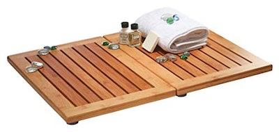 Bambusi Luxury Bamboo Bath Mat