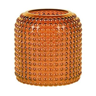Amber Large Retro Vase
