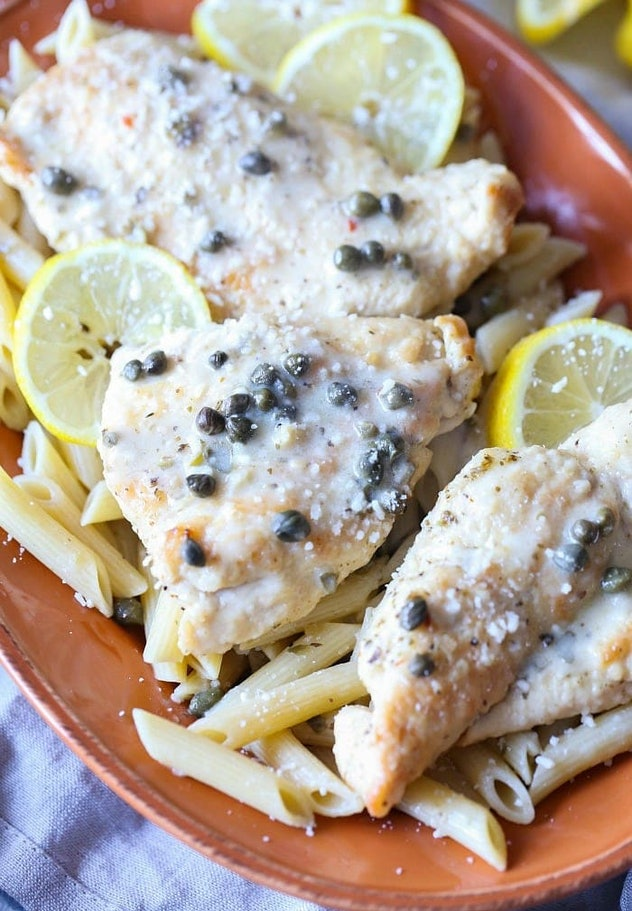 Instant Pot Chicken Piccata is one chicken Instant Pot recipe your family will love.