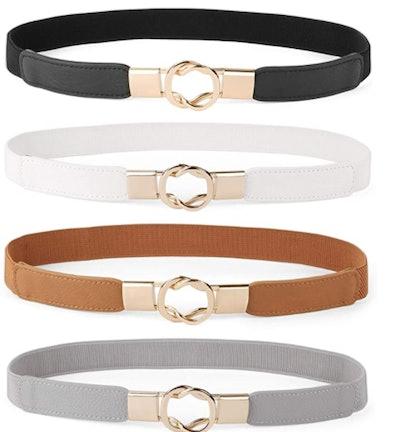 Werforu Skinny Belt (4-Pack)