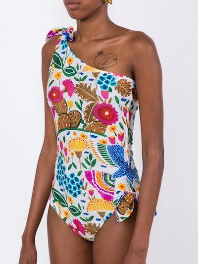 Floral Goddess Swimsuit
