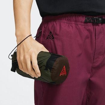 Nike ACG Mt. Fuji poncho rolled up