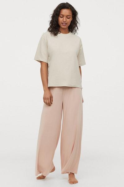 Modal-blend trousers