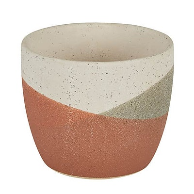 Dip Glaze Plant Pot Terracotta