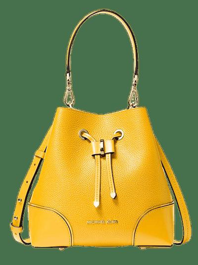 Mercer Gallery Small Pebbled Leather Shoulder Bag