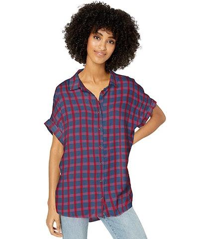 Goodthreads Women's Modal Twill Relaxed Fit Shirt