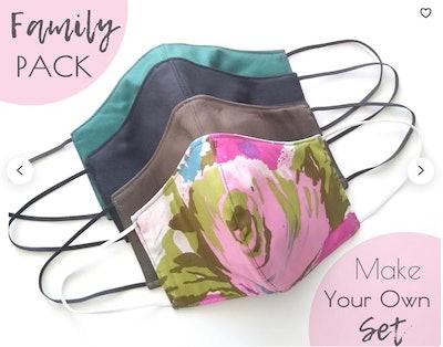 Family Pack Face Mask Set