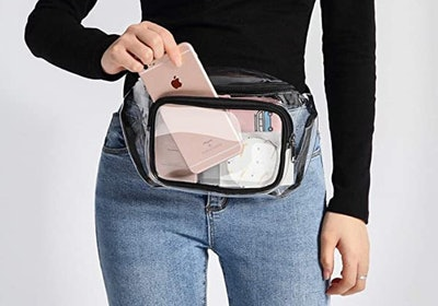 Veckle Clear Fanny Pack