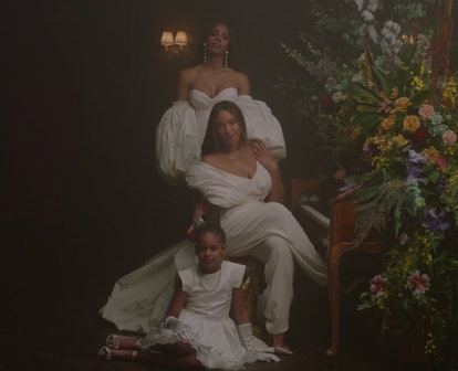 Beyonce's 8-year-old daughter, Blue Ivy, makes several appearances during 'Black Is King'.