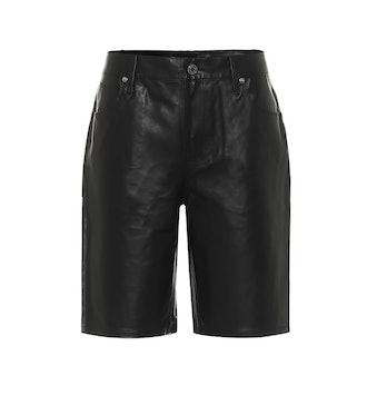 Jami Leather Shorts