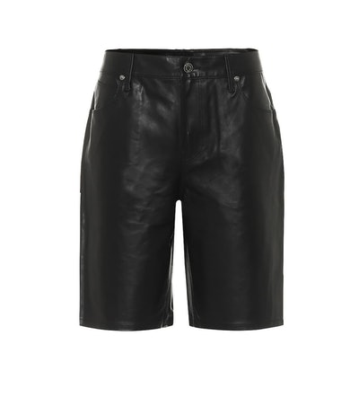 Jami Leather Shorts
