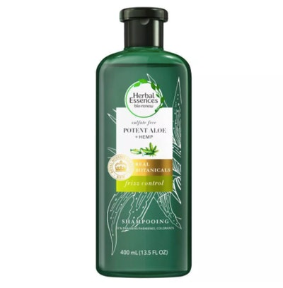 Herbal Essences Potent Aloe Vera & Hemp Sulfate Free Shampoo for Frizz Control