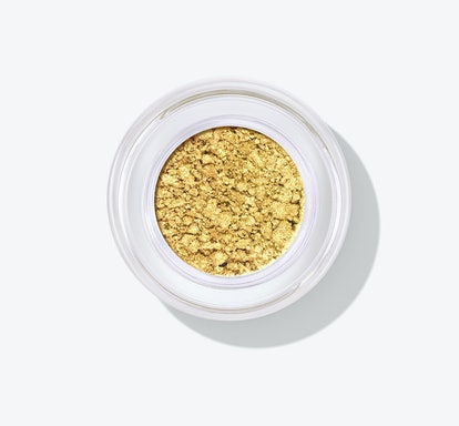 Chrome Paint Shadow Pot in Gold