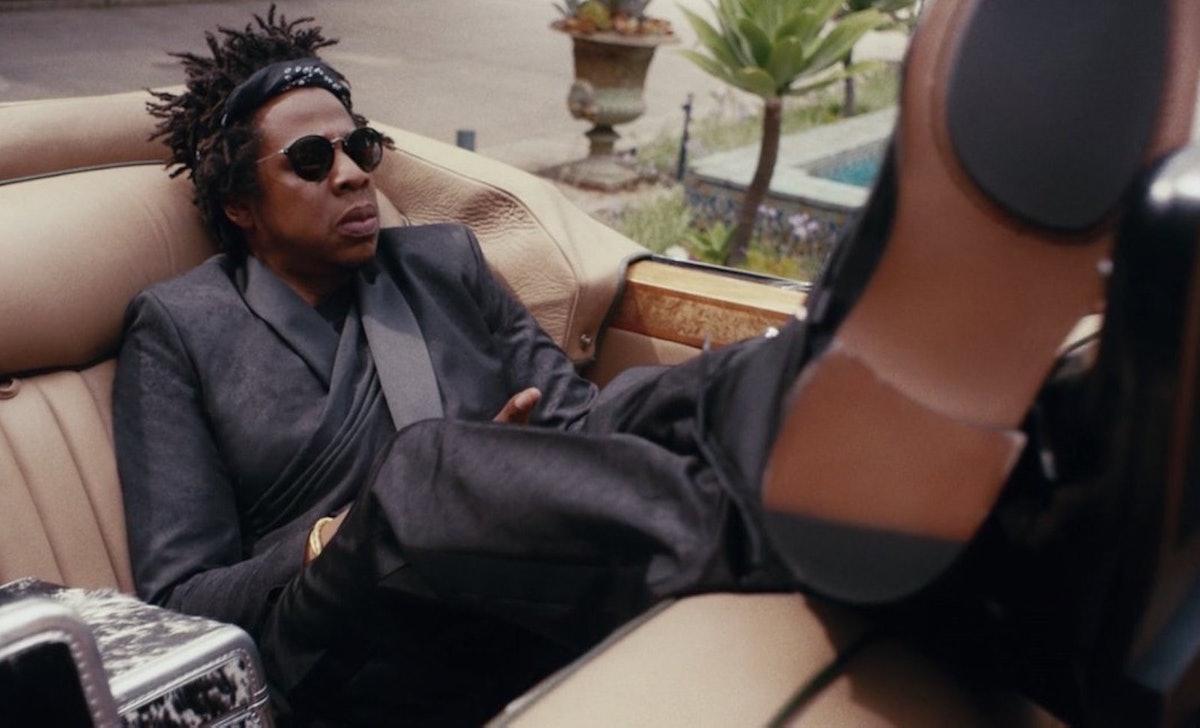 Jay-Z appeared in Beyoncé's 'Black Is King' album.