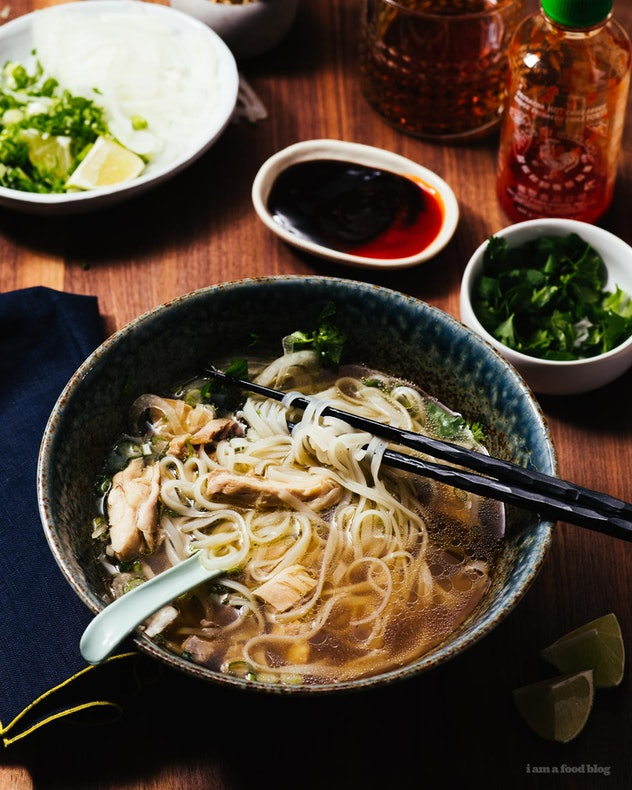 Authentic Chicken Pho is one chicken Instant Pot Recipe that is quick, easy, and comforting.
