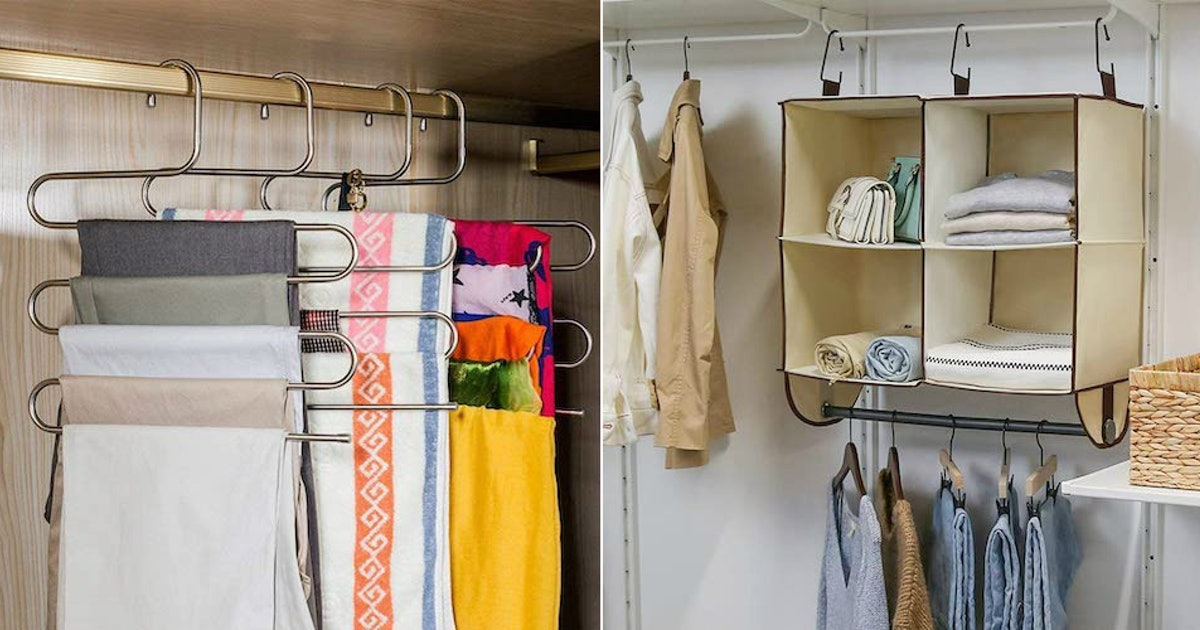 Fit More Into Your Existing Space With These 10 Genius Closet Organizers
