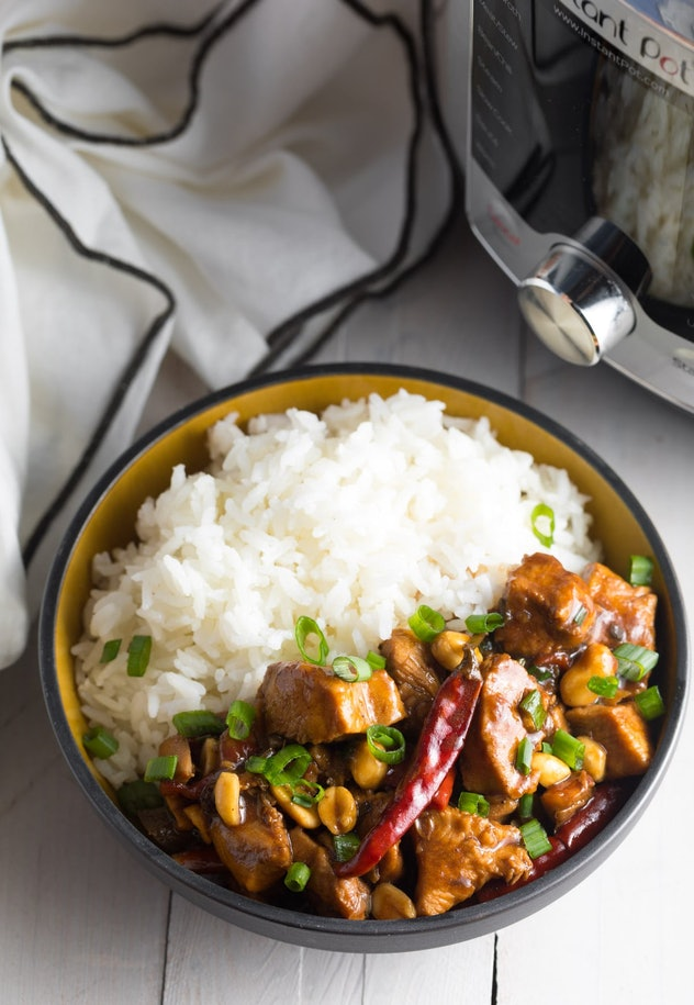 Instant Pot Kung Pao Chicken is one chicken Instant Pot recipe you can easily make at home.