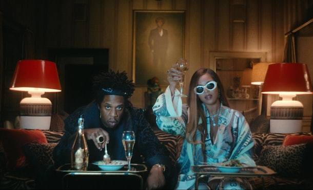 "Beyoncé's ""Mood 4 Eva"" video in 'Black Is King' evokes ""Hakuna Matata"" from 'The Lion King.'"