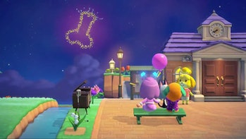 A screenshot of the game Animal Crossing: New Horizons