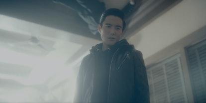 Justin Min as Ben in 'Umbrella Academy'