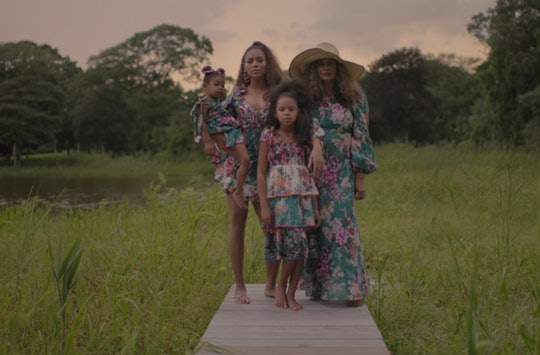 In Beyoncé's visual album, 'Black Is King' all three of her kids make some super special cameo appearances.