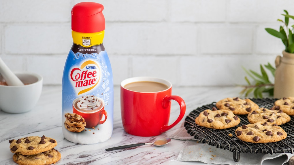 Nestlé is releasing three new coffee creamers for the holiday season.