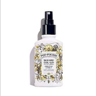 Poo-Pourri Before-You-Go Toilet Spray Bathroom Deodorizer, 2, Original Citrus, 4 Fl Oz