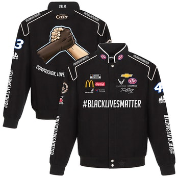 Bubba Wallace JH Design #BlackLivesMatter Uniform Jacket