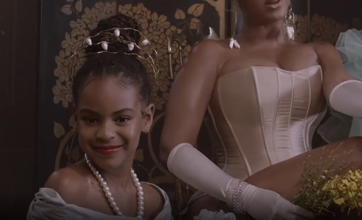 Blue Ivy's appearance on 'Black Is King' has Beyoncé fans clamoring.