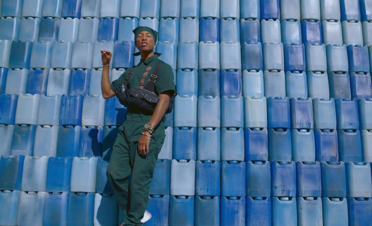 Pharrell Williams appears in Beyoncé's 'Black Is King' album.