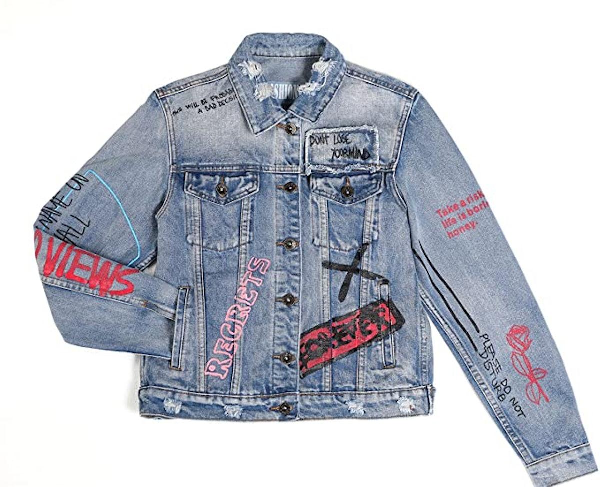 Dolcevida Women's Fashion Long Sleeves Jean Jacket