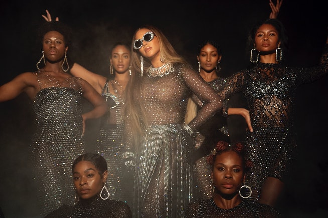 """Beyoncé in """"Find Your Way Back"""" from the visual album BLACK IS KING, on Disney+"""