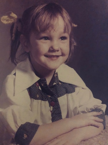 Psychologist and sexuality expert Terri Conley as a child