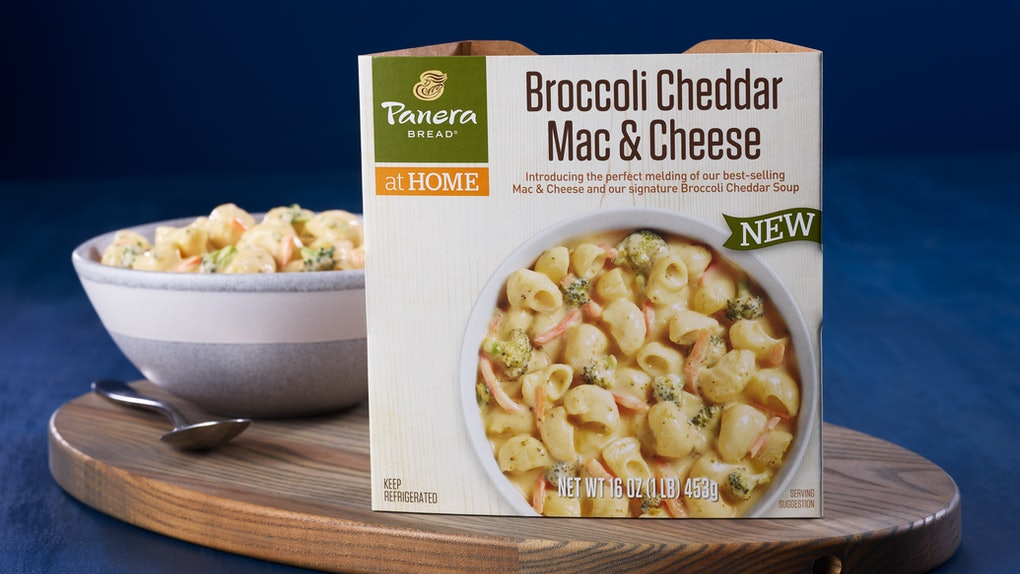 Panera is selling Broccoli Cheddar Mac and Cheese in grocery stores, so get ready to upgrade your lunch.