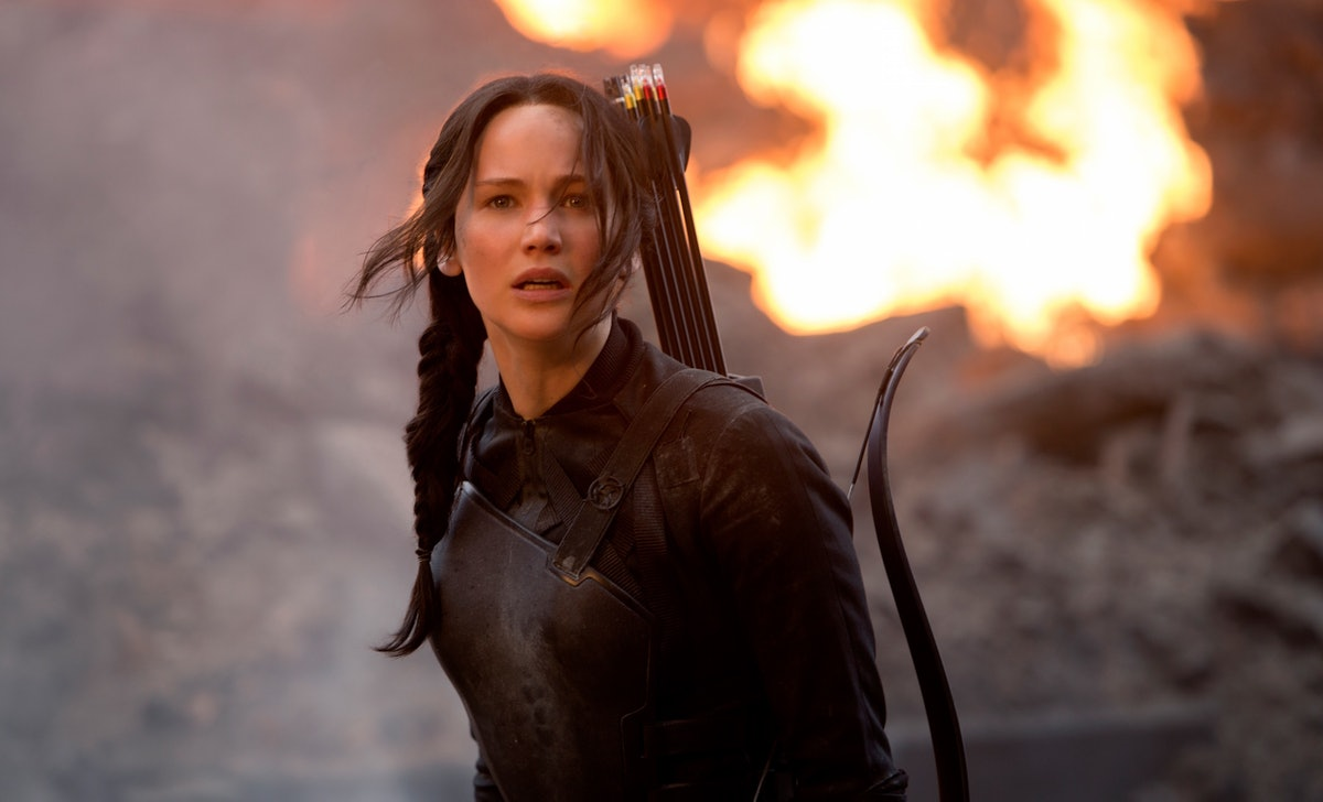 Brie Larson implied she auditioned to play Katniss in 'The Hunger Games.'
