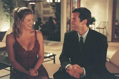 Bachelor Alex Michel with Amanda Marsh.