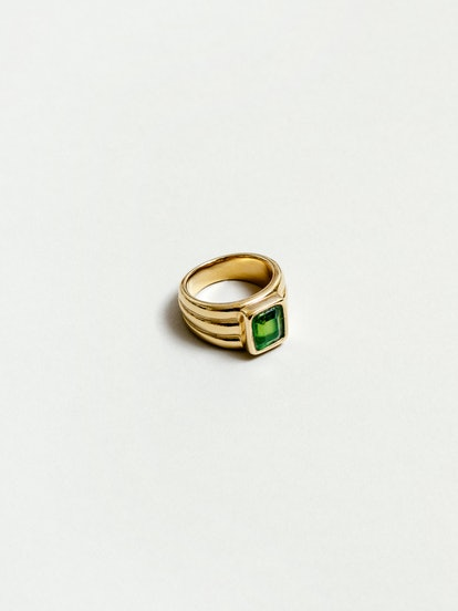 Penelope Ring in Peridot