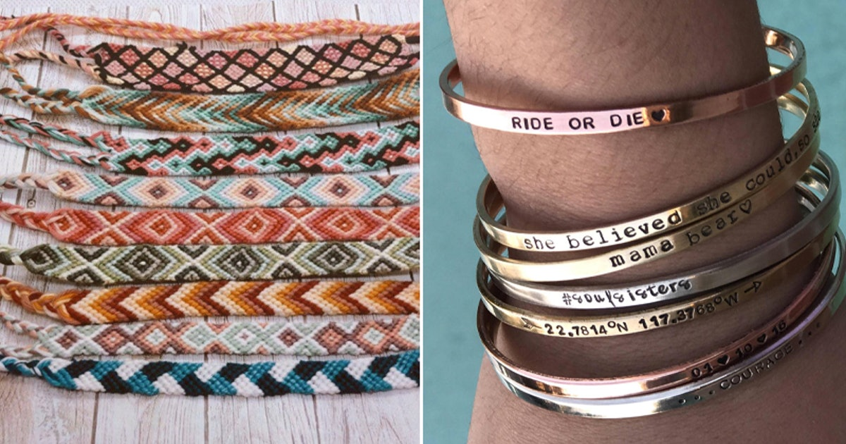 12 Cool Friendship Bracelets On Etsy To Give Your Number One Since Day One