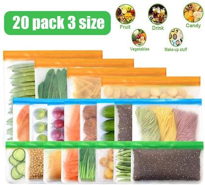 Gesentur Food Storage Bags (20-Pack)