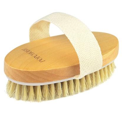 POPCHOSE Exfoliating Dry Body Brush