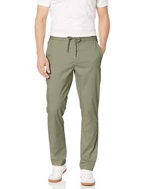 Goodthreads Athletic-Fit Washed Chino Drawstring Pants