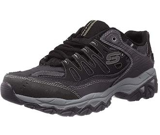 Skechers Afterburn Memory-Foam Lace-up Sneaker